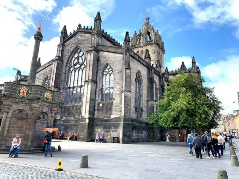 St Gile's Royal mile Edinburgh Cathedral