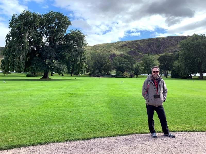 Holyrood Palace - Gardens