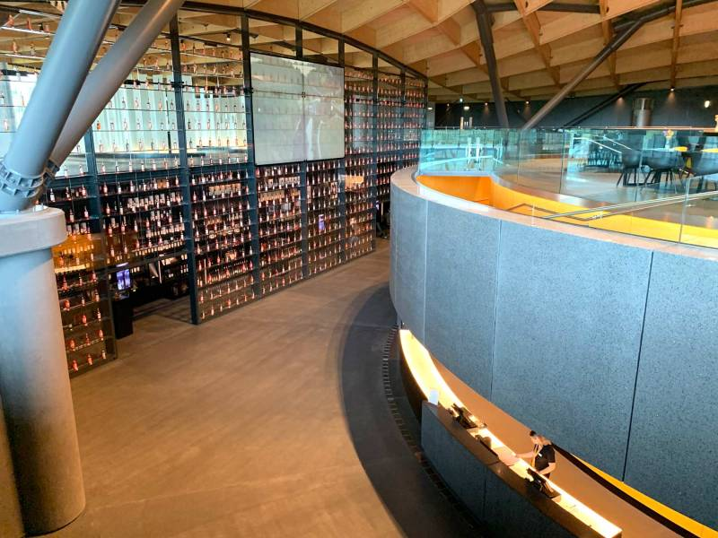 Macallan distillery interiors