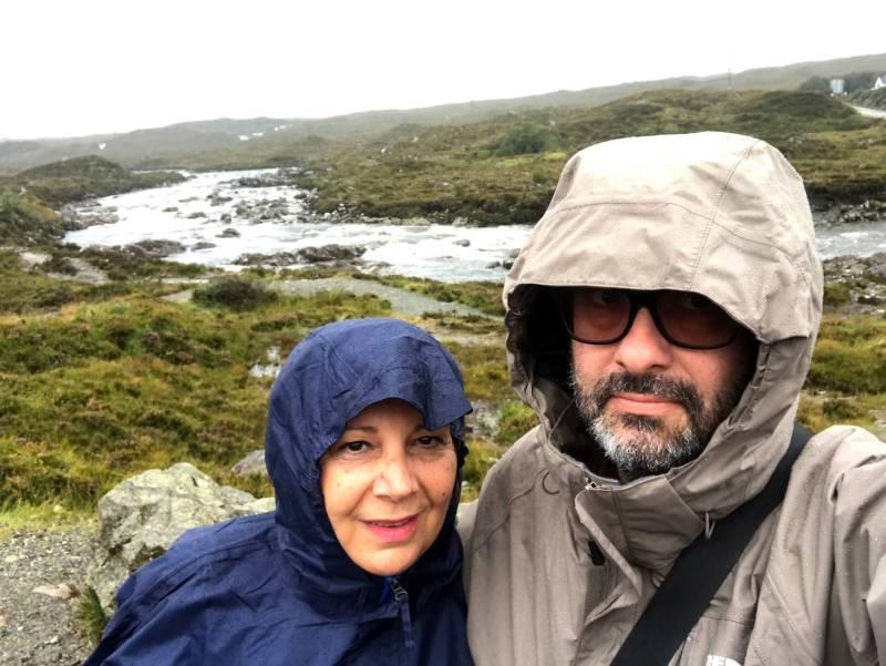 Skye in the rain