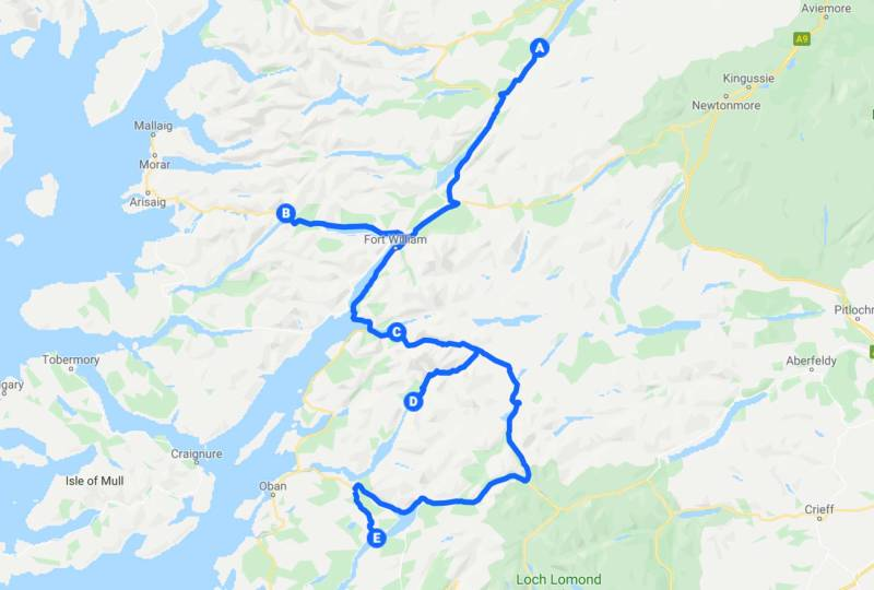 Journey to Scotland by car stage 6