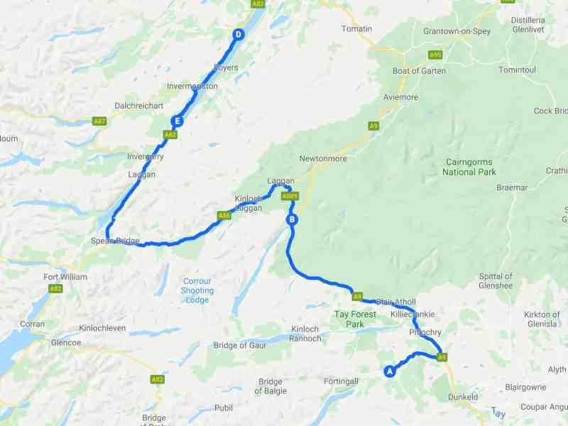 Tour Scotland - Third Stage