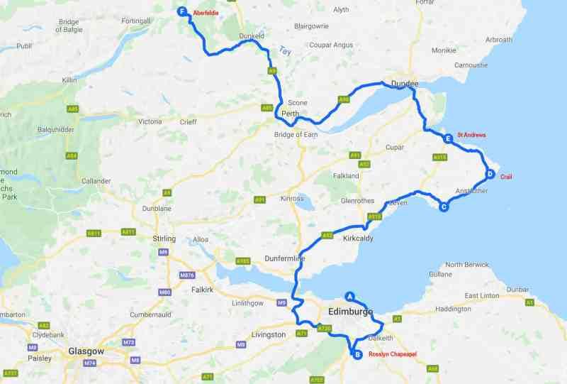 Tour Scotland - Second Day