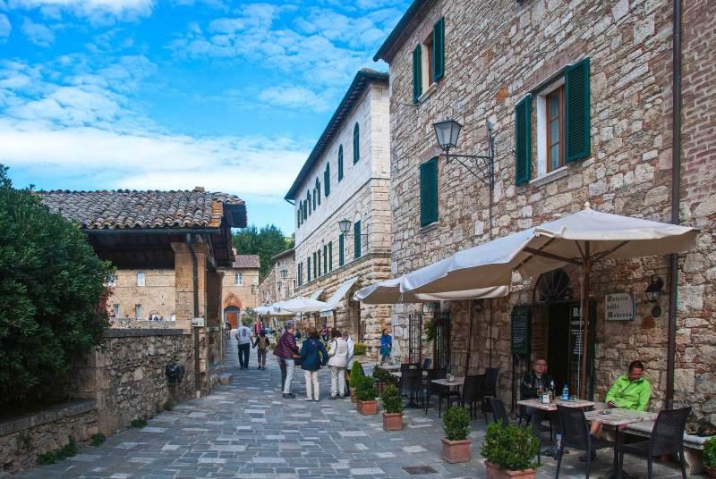 Borgo in pietra Bagnovignoni