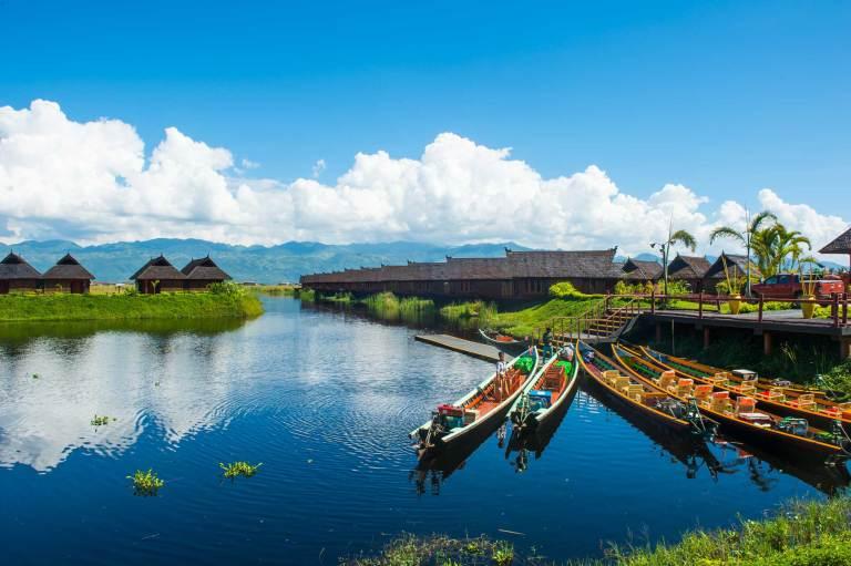 Birmania lago Inle