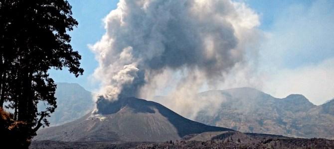 Výbuch sopky na Lomboku a dovolená na Bali