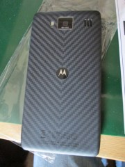 Motorola Razr HD smartphone rear cover