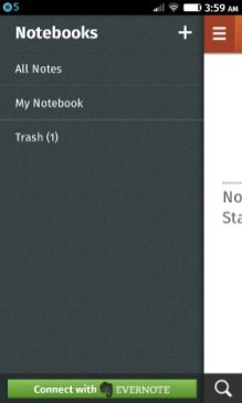 Notes app settings