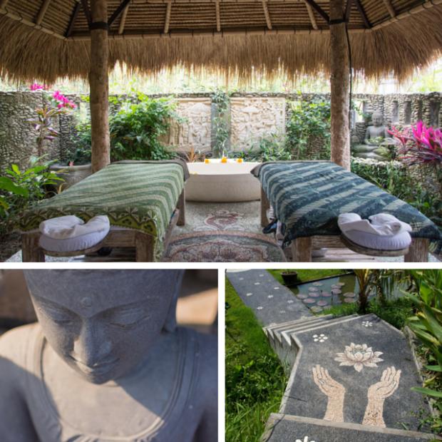 Bali spirituelle et bien etre massage