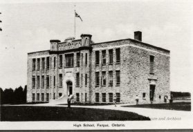 Fergus High School Circa 1930