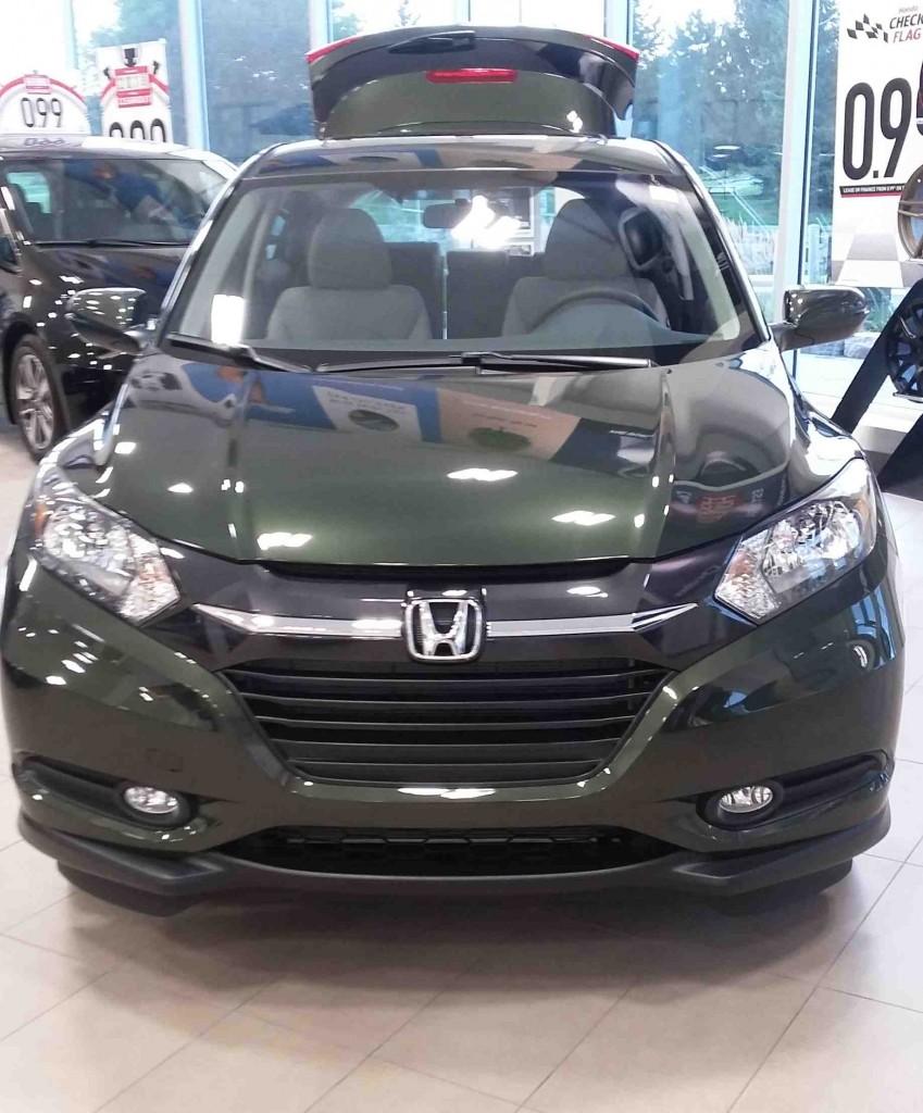 Honda Hrv Green : honda, green, Showroom, Showoff:, Honda