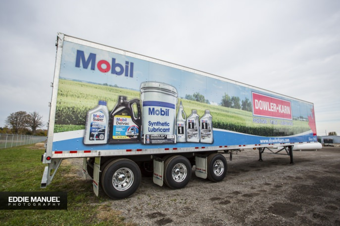 Mobil Trailer - DK Lubrication Distribution Centre