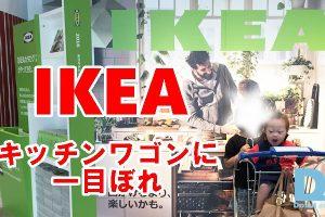 IKEA,キッチンラック,あるある,RASKOG,組立,ダウン症,ブログ