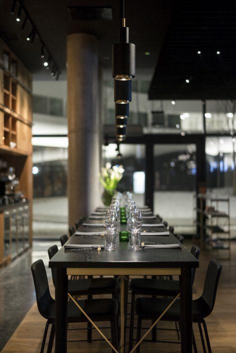 oak kitchen tables bar table 波兰campo现代烧烤--buck studio_设计圈