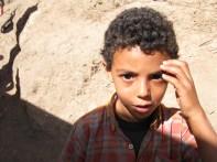 Beautiful Berber boy, Morocco
