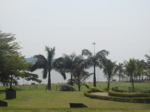 A beach in the city, Munyonyo