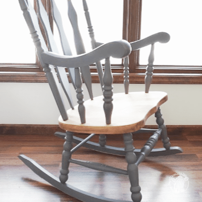 Easy DIY Rocking Chair Redo