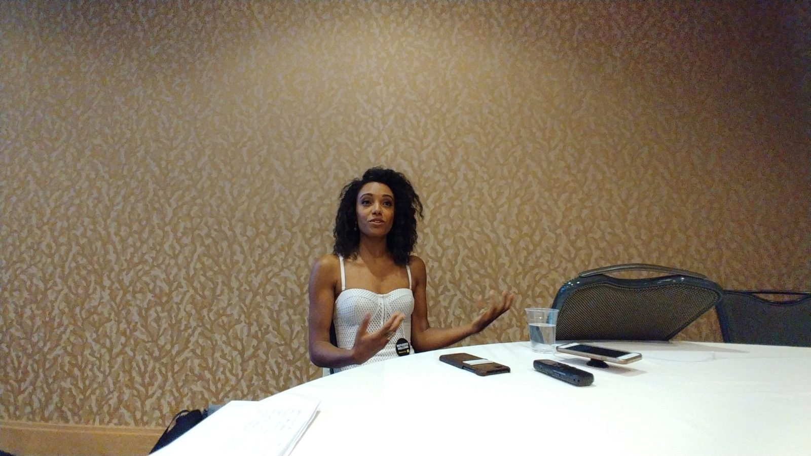 SDCC 2018 - Maisie Richardson-Sellers