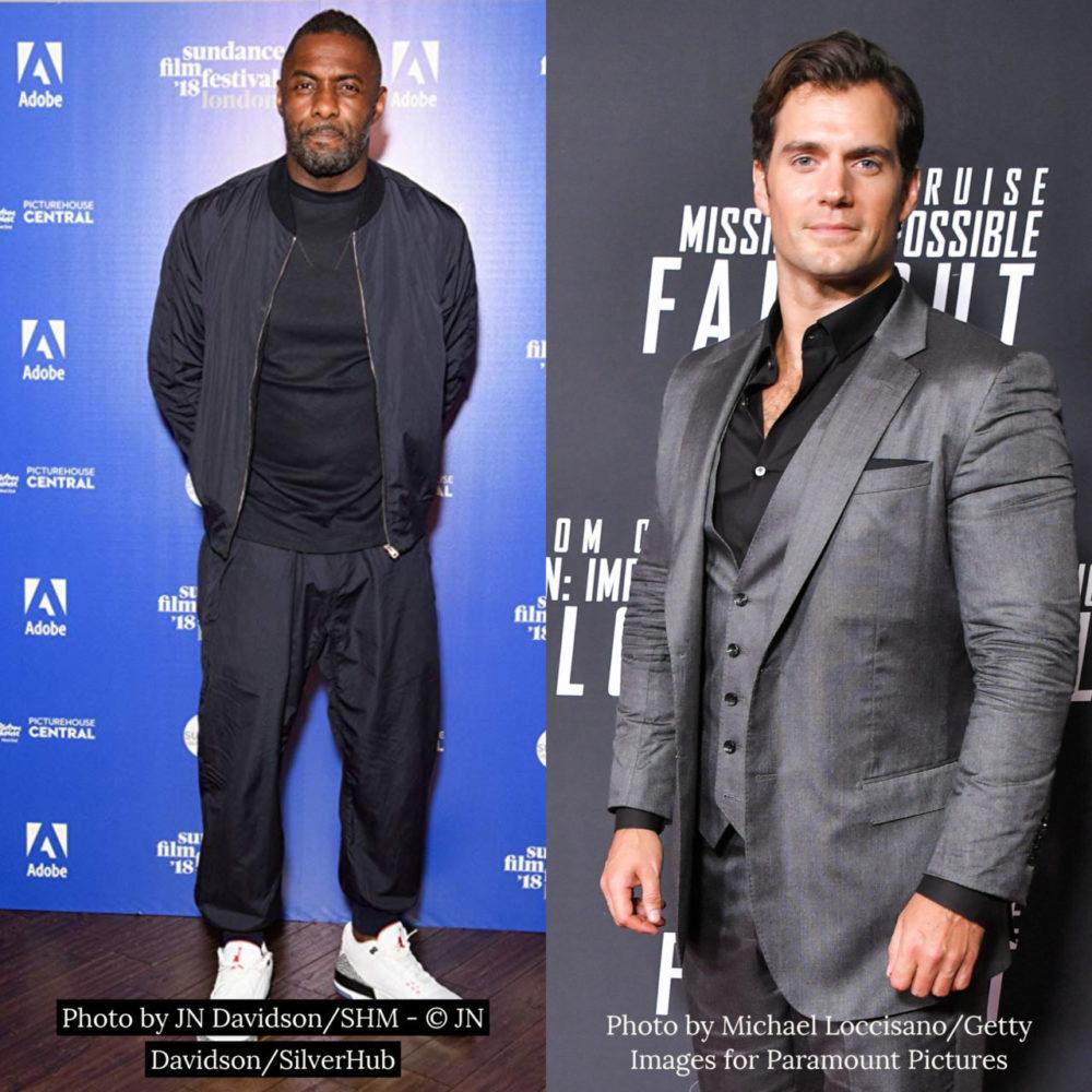 Idris Elba & Henry Cavill