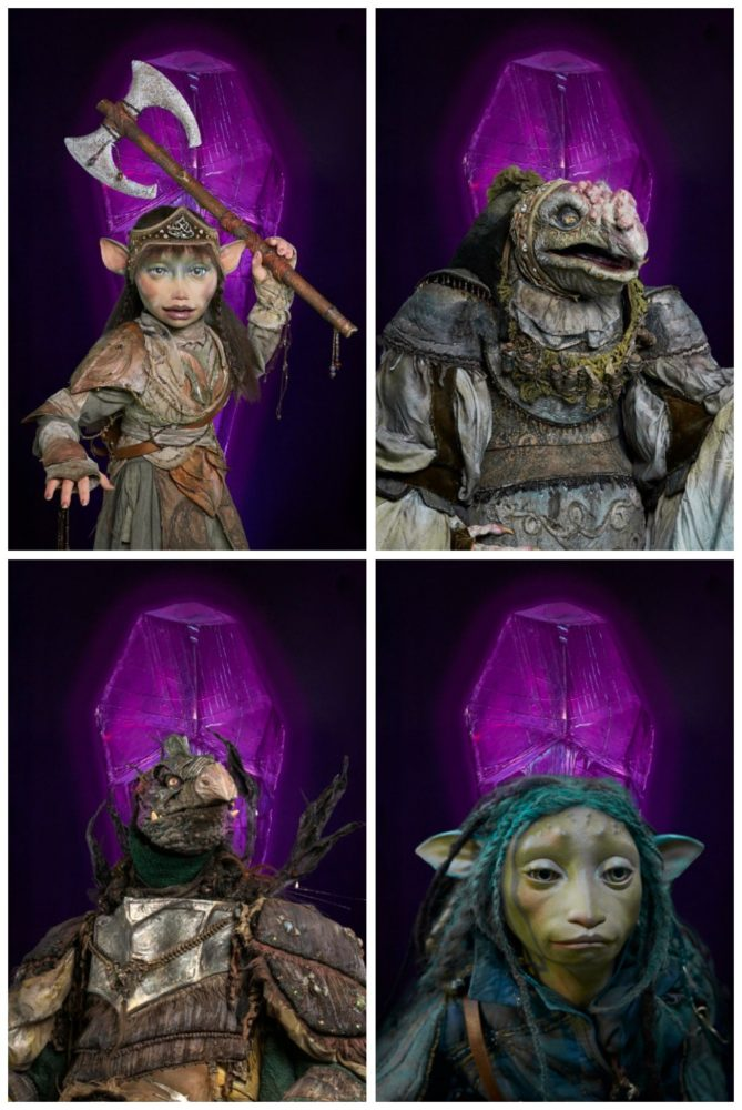 The Dark Crystal: Age of Resistance Character Portraits