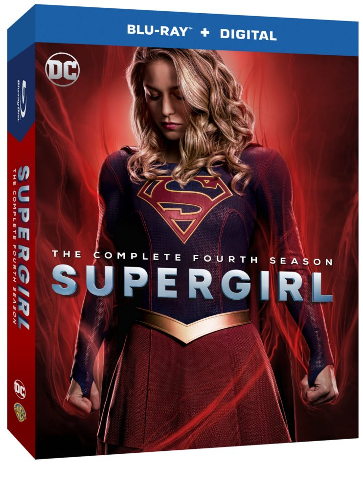 Supergirl Season 4 Box Art