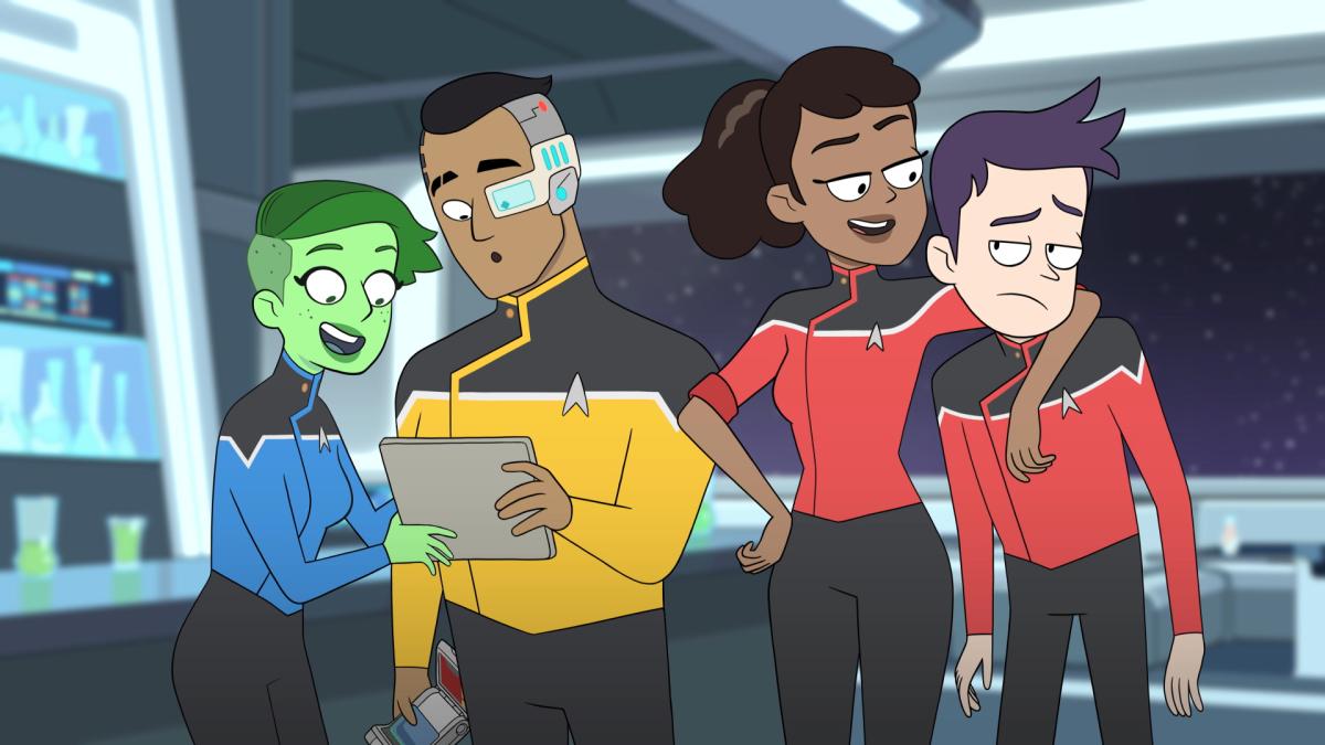 Star Trek: Lower Decks Characters