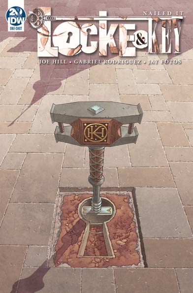 Locke & Key SDCC 2019 Cover