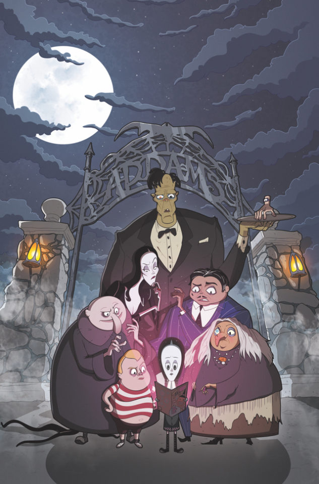 The Addams Family #1 from IDW