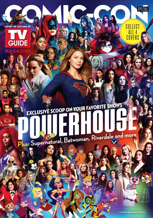 WB Powerhouse SDCC 2019 TV Guide Cover