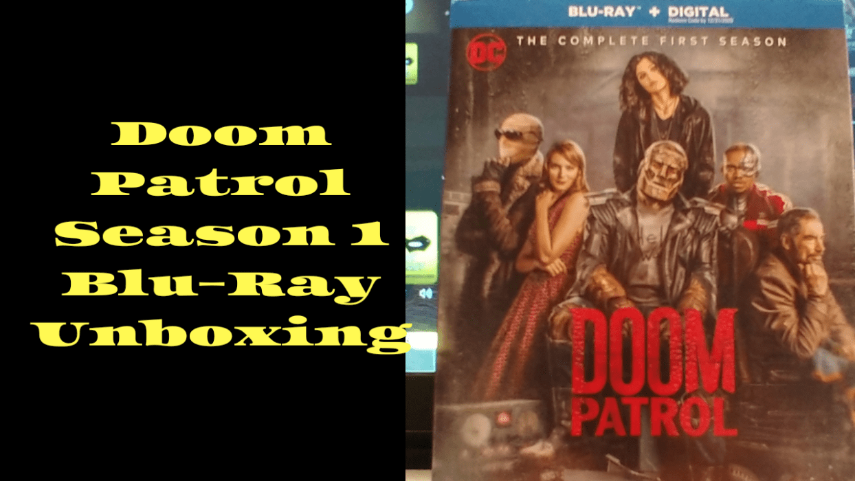 Doom Patrol Season 1 Unboxing