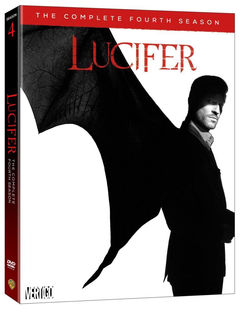 Lucifer Season 4 DVD Cover