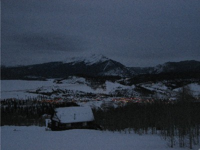 Dusk, Summit County Colorado
