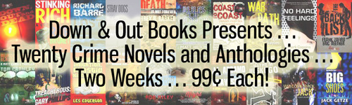 Down & Out Books Holiday 2015 Promotion