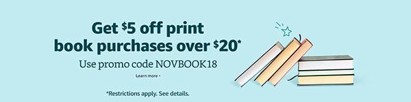 Amazon November 2018 Promotion