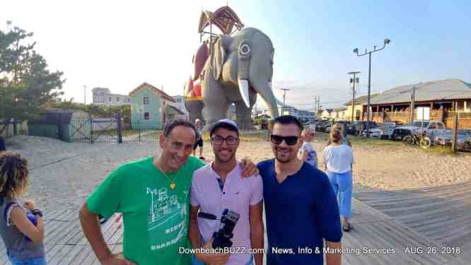 Lucy the Elephant Supports Rebuilding the Margate Boardwalk