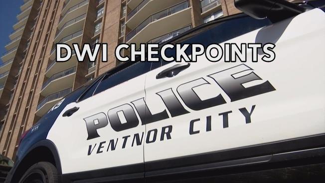 Ventnor Police DWI Check Points