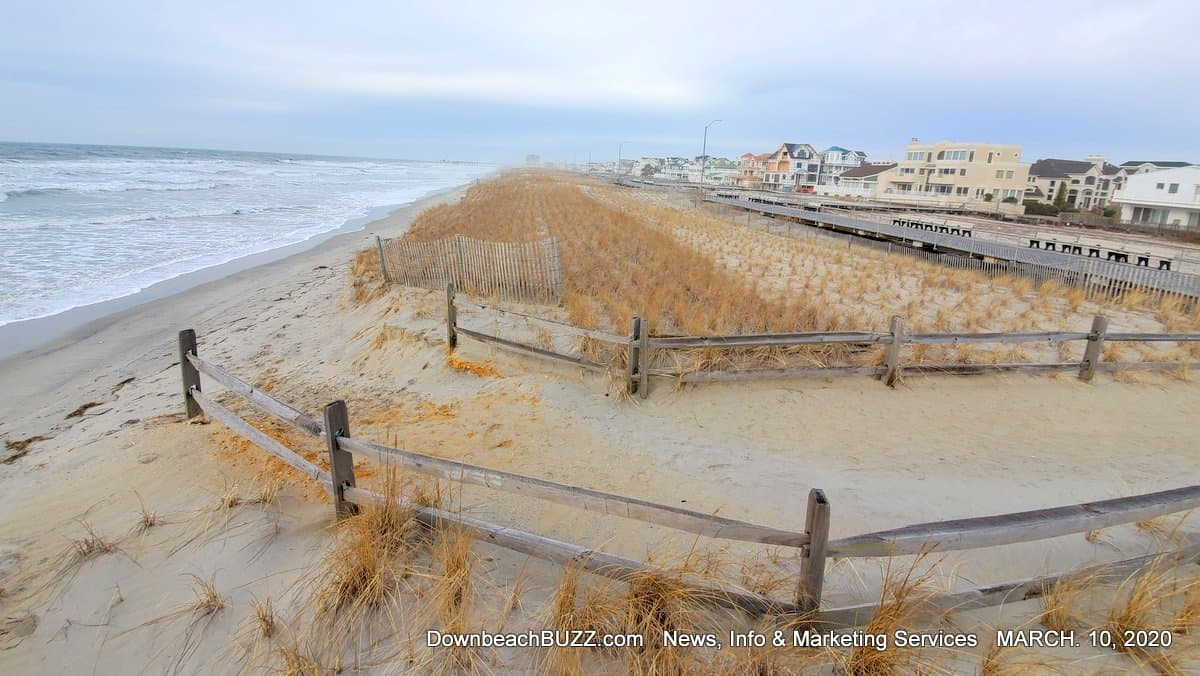 Ventnor Sand Pumping and Dredging. Beach and Dune Erosion.
