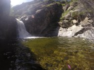 20-foot waterfall.