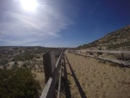 Path to Marina Dunes Preserve.