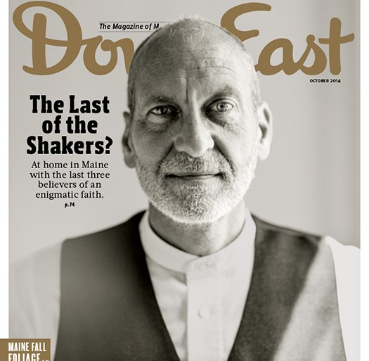 Down East October 2014 Cover