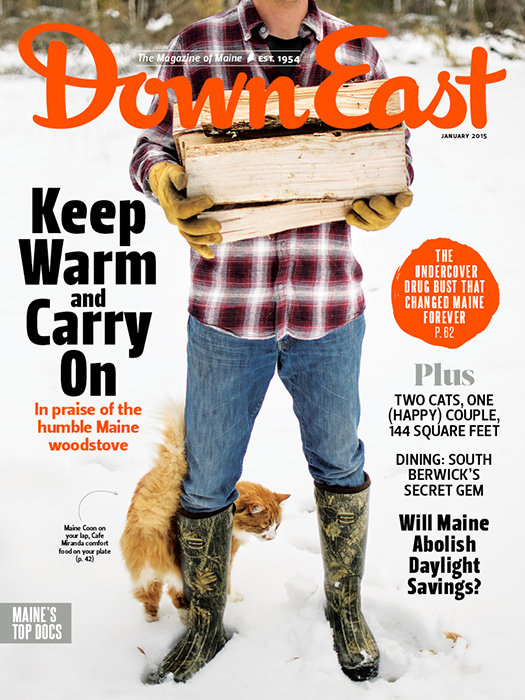 Down East January 2015 Cover