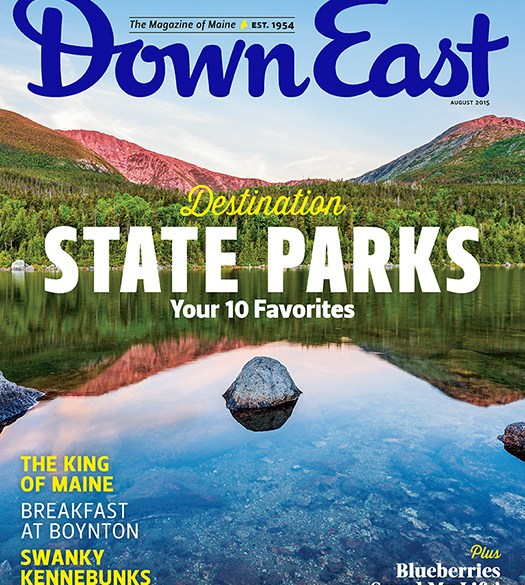 Down East August 2015 Cover
