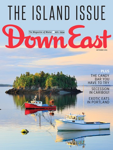 Down East September 2015 Cover