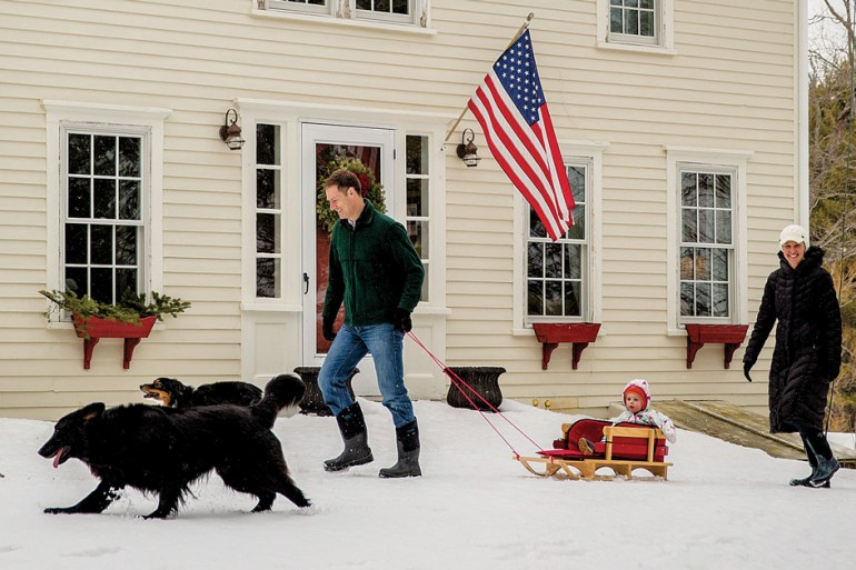 Maine Home, The Christmas Farm, Down East Magazine