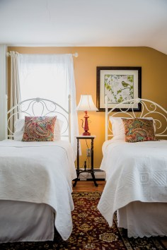 guest room at Snow Meadow Farm