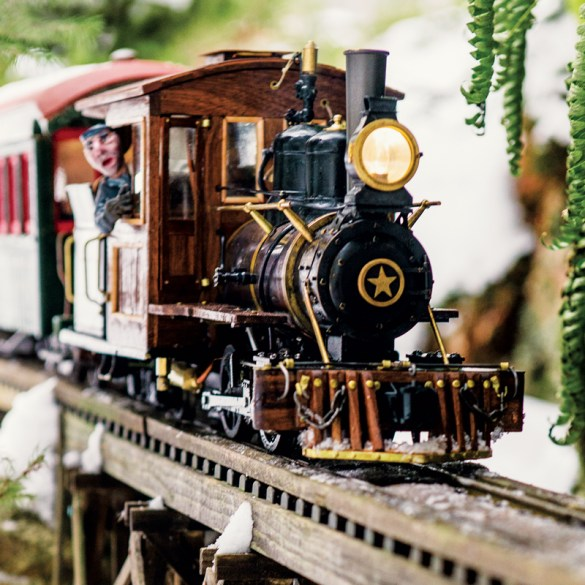 Model Trains, Down East Magazine