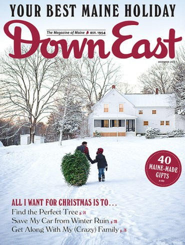 Down East December 2015 Cover