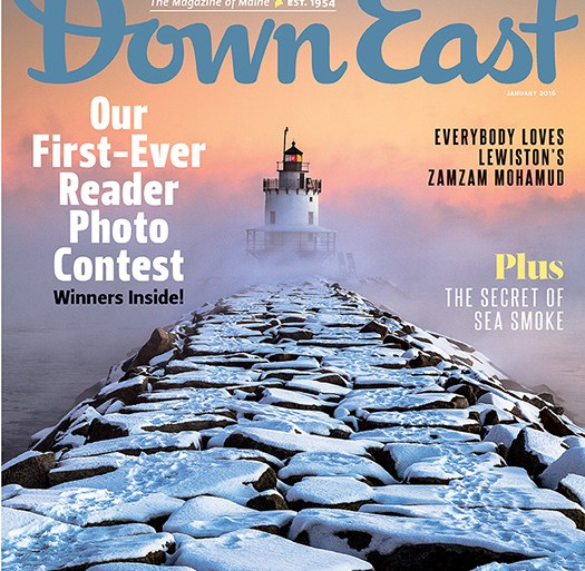 Down East January 2016 Cover
