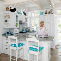 Unfinished Kitchen Table Restaurant Flooring 6 Tiny Homes In Maine | By Down East Magazine