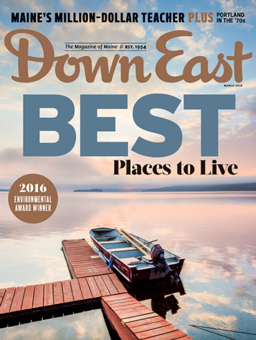 Down East March 2016 Cover